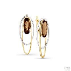 Cercei din aur MAGIC STONES art 02-2-748-0400-041 1