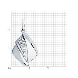 Pandantiv din argint SOKOLOV art 94-130-00681-1 2